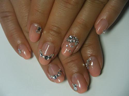 nail art with stones ideas fashionate