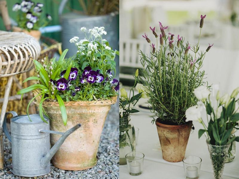 Recicla tus tiestos viejos 10 ideas para dar vida al for Ideas para decorar el jardin reciclando