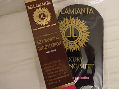 Bellamianta self tan review www.thelavenderbarn.blogspot.co.uk