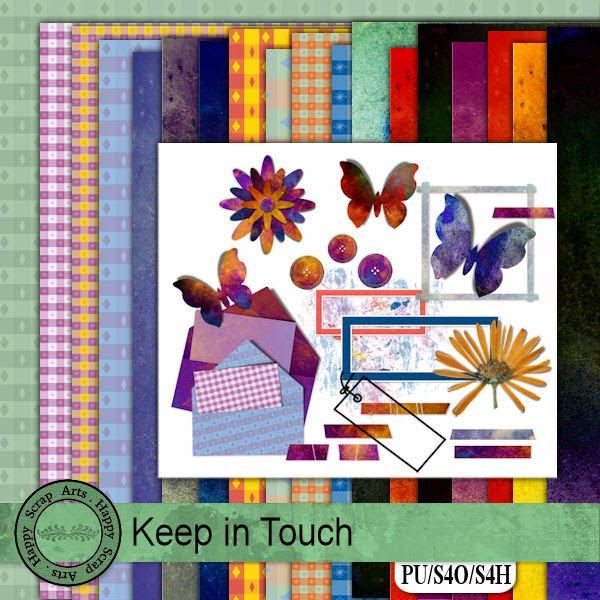 Happy Scrap Arts ::  Keep in Touch