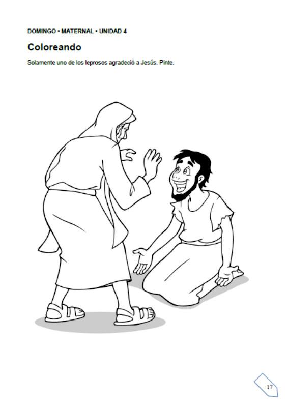 LA CURA DE LOS LEPROSOS ~ Escuelita Biblica Infantil