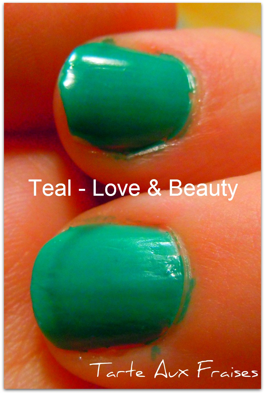 Tarte Aux Fraises: Nail Polish: Forever 21 - Love and Beauty - Teal