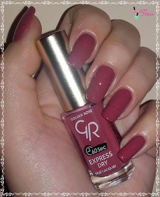 Golden Rose Express Dry 46 od  beauty-styl.pl i  efekt broken glass by terii