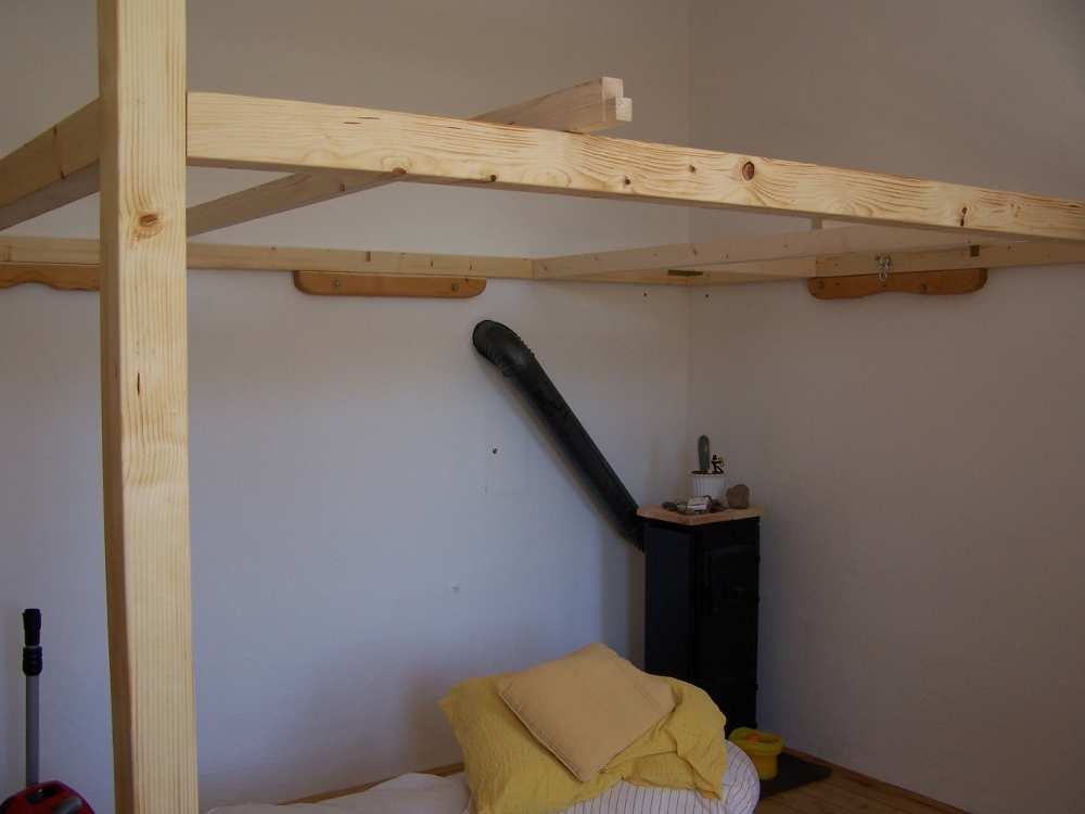 construction d un lit mezzanine 2 places pour famille lit mezzanine 2 places
