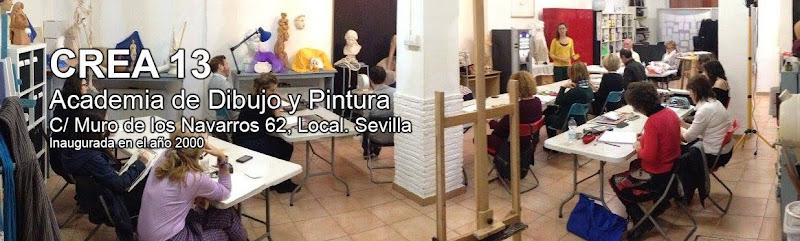 CREA 13. Clases de Dibujo, Pintura y Modelos del natural, Sevilla