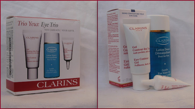 Набор для ухода за кожей вокруг глаз Contour Multi-Active Eye Trio от Clarins фото 1