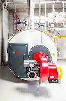 Economie de 15 la suta la energie cu sistemul Bosch format dintr-un cazan cu abur si o instalatie de incalzire solara