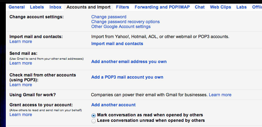 Set Up Custom Email Address With Gmail for Free ~ Soliloquy of a ...