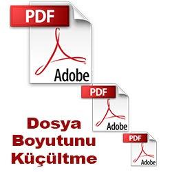 online pdf dosya boyutu küçültme