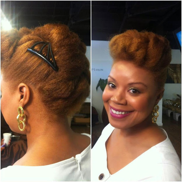 easy braided natural hairstyles