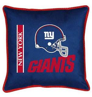 new york giants fashion pillow