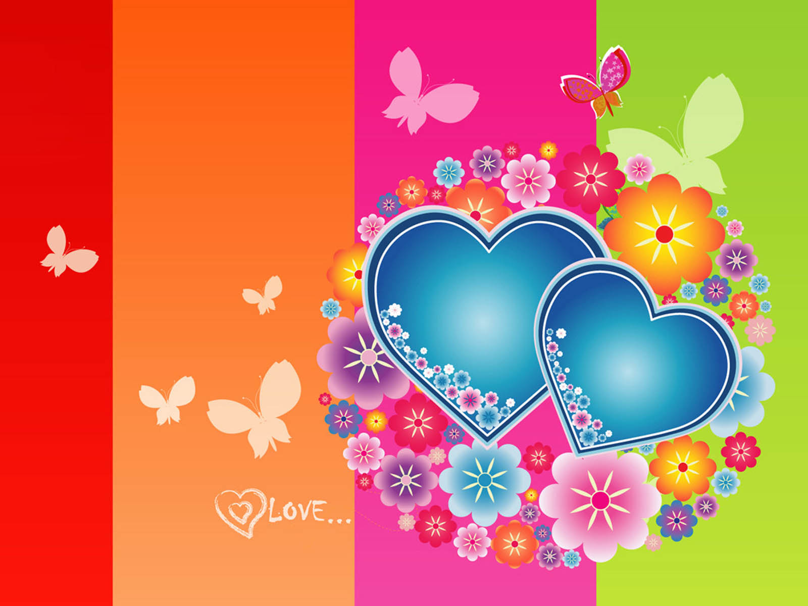 Love Heart Wallpaper Designs : wallpapers: Love Heart Wallpapers