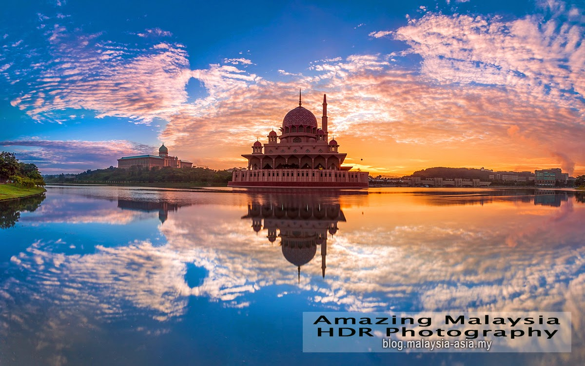 Putrajaya Mosque HDR Photography