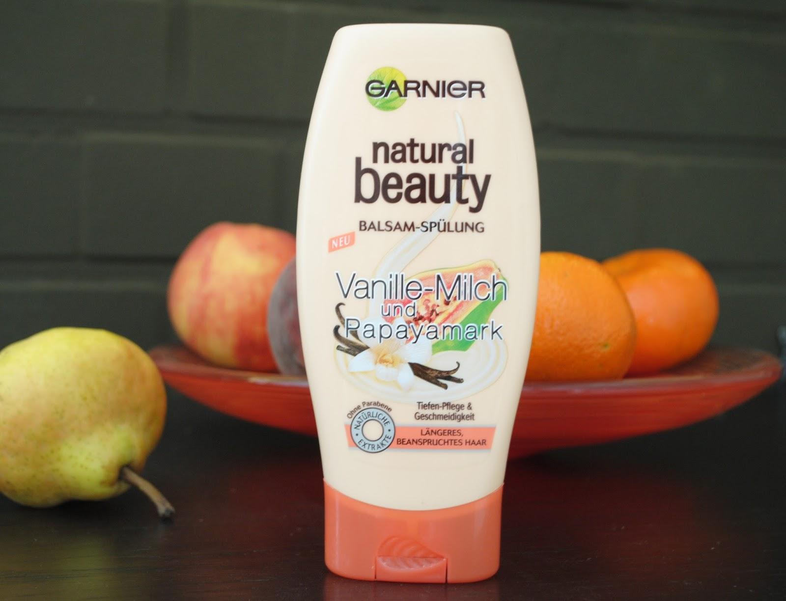Odzywka Garnier natural beauty mleko waniliowe i papaja