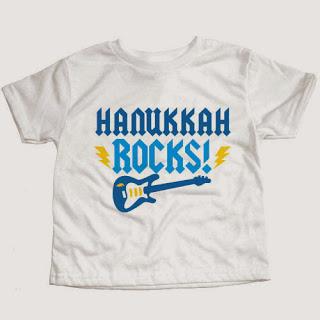 Psychobaby Hanukkah Rocks Tee
