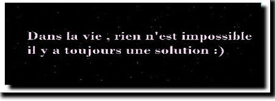 citation solution en image