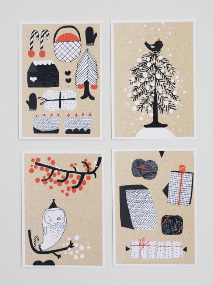 Kanelikaupassa christmas cards