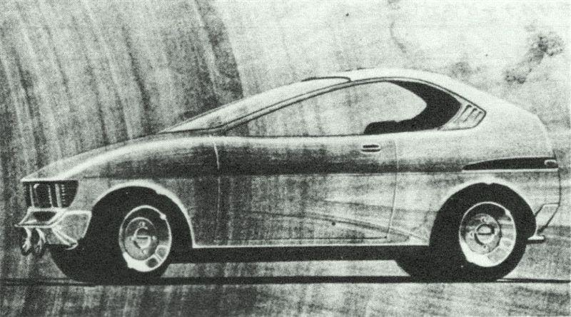 suzuki fronte coupe lc10w, design, szkic, Giorgetto Giugiaro