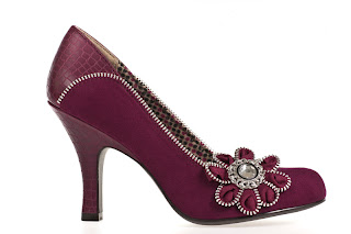 Ruby Shoo Wine Monroe, £39.95
