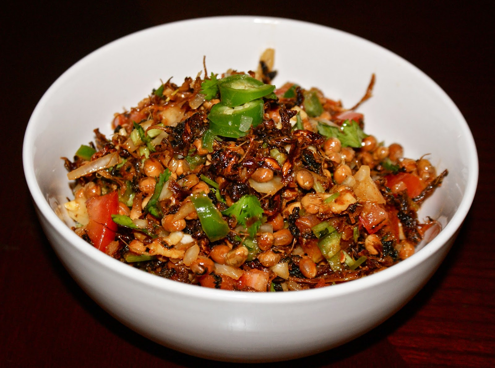 Nepali Tummy Gundruk Shinki And Bhatmas Sadeko Recipe