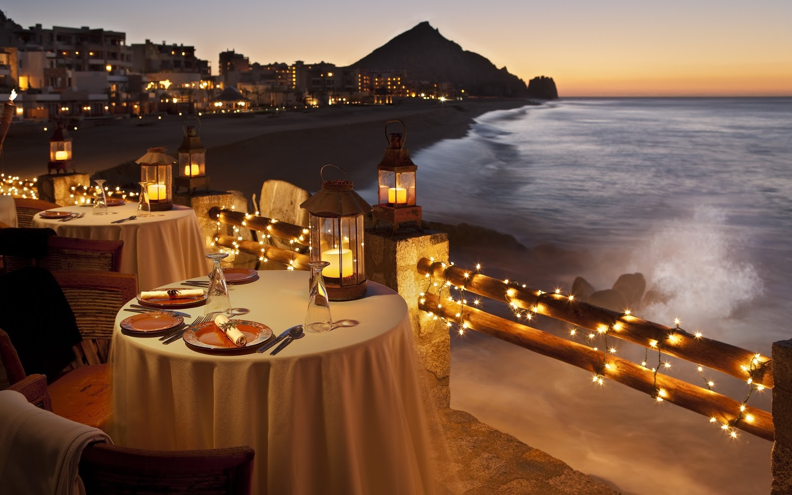 10 beautiful romantic dinner wallpapers tapandaola111 for Romantic restaurants in california