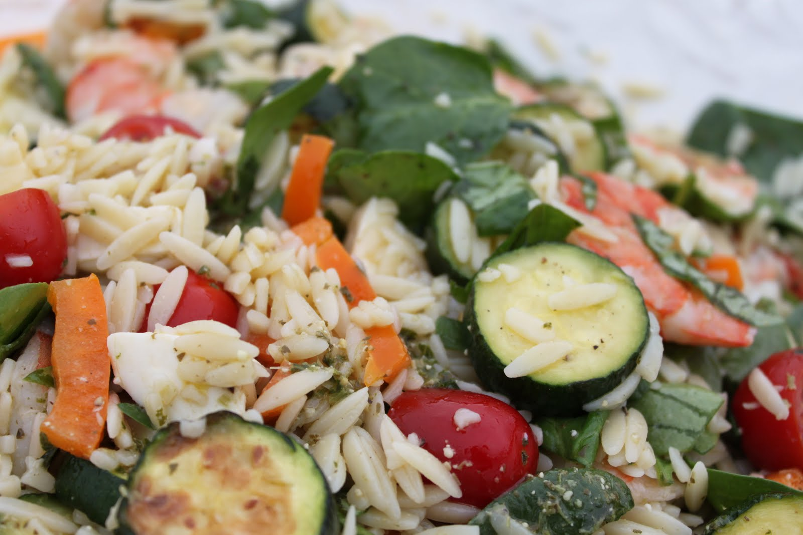 ... feel the need to have an orzo salad with our easter meal why orzo why