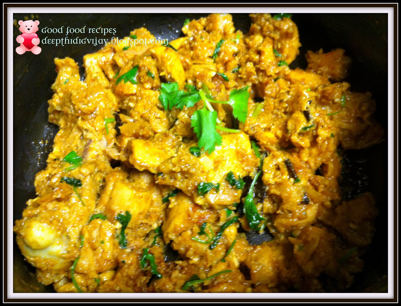 Chicken fry dry chicken curry andhra pradesh style ramyas request and made this delicious dry curry for him he just enjoyed it the sesame seeds add extra flavor to this dish coming to recipe forumfinder Image collections