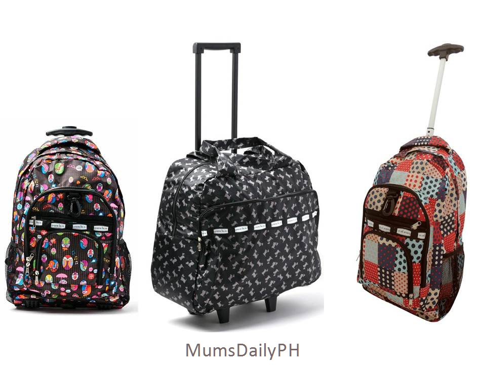 A Few Trend Checking Price Comparing Mum S Smart Ping Days Ago I Ve Chanced On These New Cute School Bags It Has Rollers And Comes In Variety Of