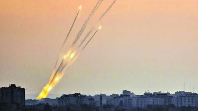 Dispararon cohetes desde Gaza al sur de Israel