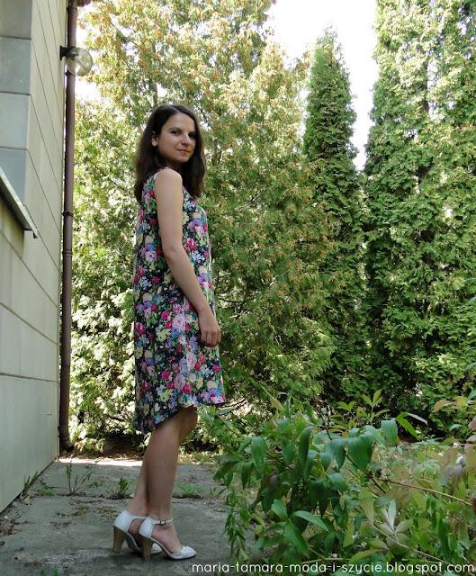 szeroka sukienka