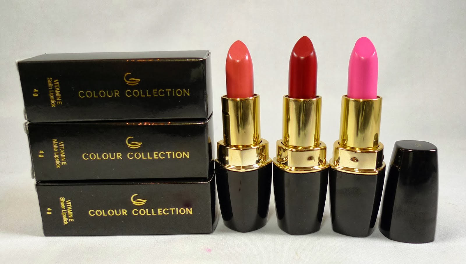 Colour Collection Lipsticks Review The Beauty Junkee Tupperware Classy Red Other Locations Please Inquire Via Brands On Facebook