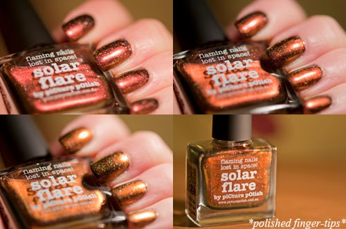 Picture Polish Solar Flare - artificial light