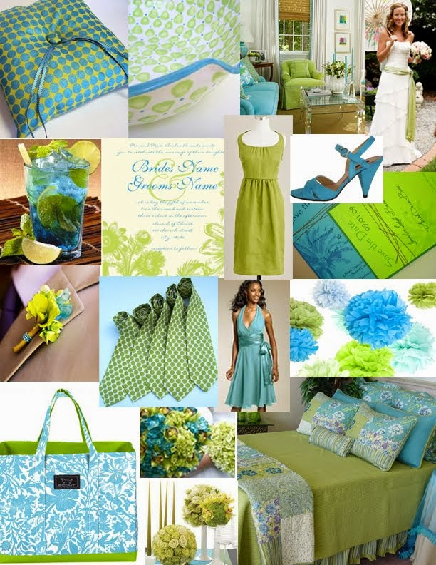 Pictures of Turquoise And Green Wedding Theme - www.kidskunst.info