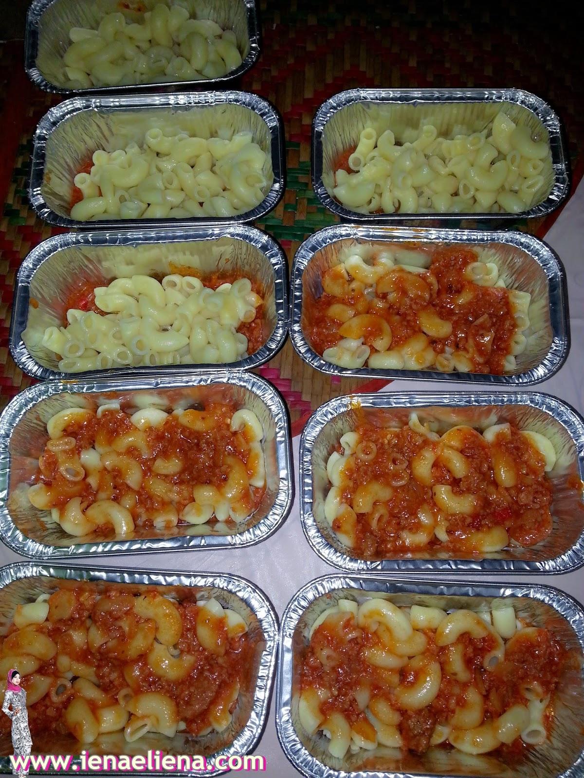 Qaseh baked macaroni