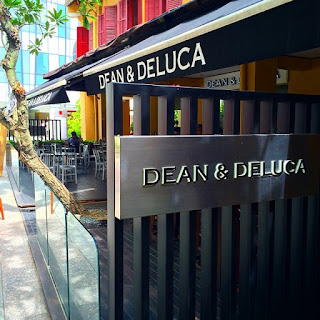 Cake Date at Dean & Deluca, Far East Square