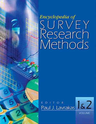 Encyclopedia of Survey Research Methods (2 Volume Set) - Free Ebook Download