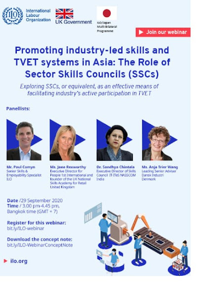 Promoting Industry-led skills and TVET systems in Asia: The Role of Sector Skills Councils (SSCs)