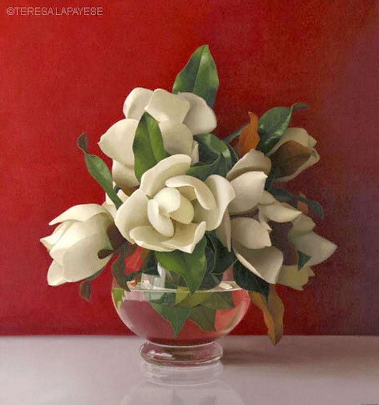 Imagenes De Flores Pintadas En Oleo - Flores Pintadas en Pinterest