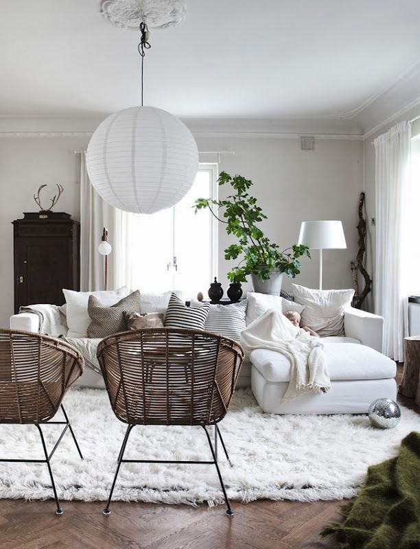 via - Rosa Beltran Design: RATTAN CHAIRS AND FURNITURE: HOW & WHEN?
