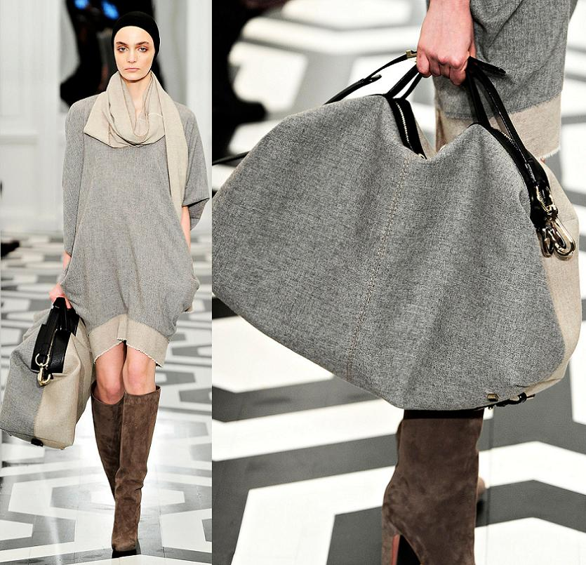 Fashion Runway Victoria Beckham Bags New York Fashion Week Fall Winter Cool Chic