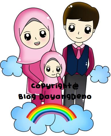 Family Doodle Untuk Blogger Mialiana