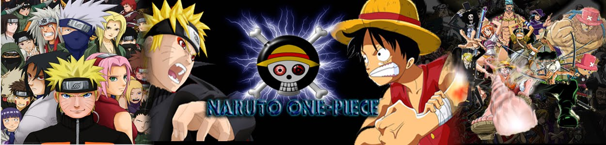 manga  naruto & one-piece