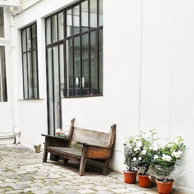 Cour Atelier Henriette H / Paris / Photos Atelier rue verte /