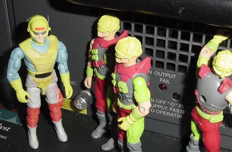 Corrosao (Brazilian Exclusive Cobra Eco-Warriors Dee-Jay), Forca Eco, Estrela, 1993 Mega Marines Cyber Viper
