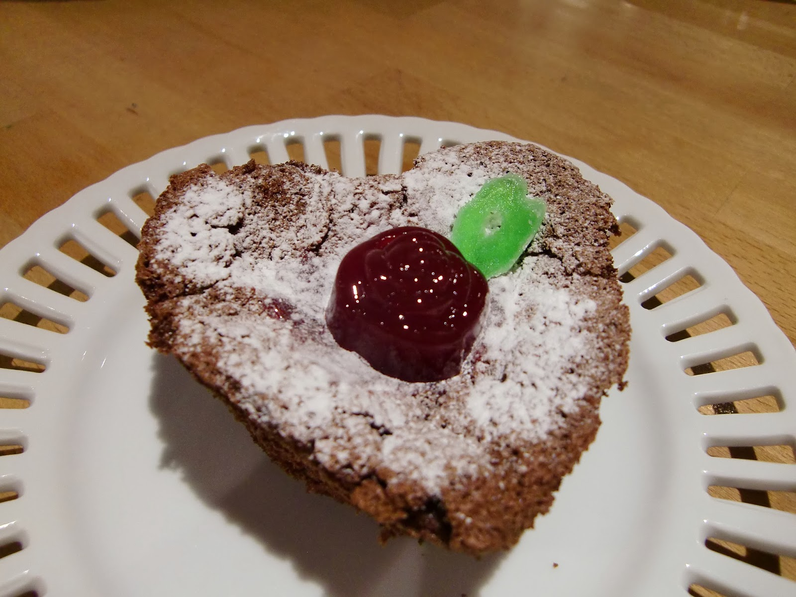 「情熱」という名の、チョコレートケーキ。
