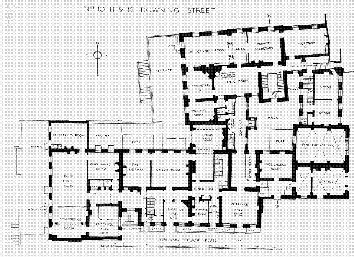 Houses of state downing street floor plans london 10 Floorplan com