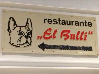 Cartel Original de El Bulli