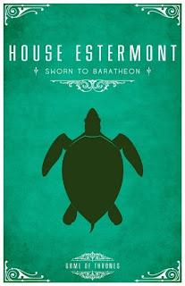 emblema casa Estermont - Juego de Tronos en los siete reinos