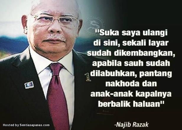 Najib+Bohong