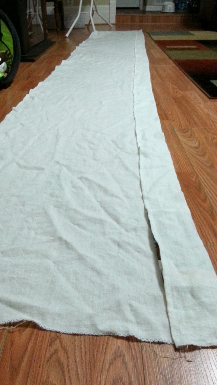 Linen Baby Wrap Sekka Shibori Dye: Part 1